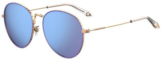 Givenchy 60mm Oversized Sunglasses
