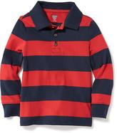 Old Navy Striped Jersey Polo for Toddler