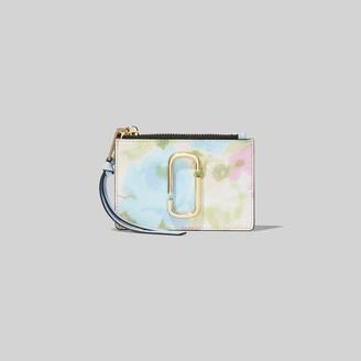Marc Jacobs The Snapshot Watercolor Top Zip Multi Wallet