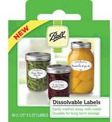 Ball Dissolvable Label