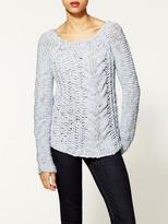 Free People Giselle Hot Tottie Pullover