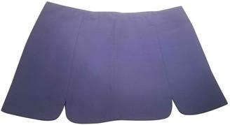 Miu Miu Turquoise Cotton Skirt for Women