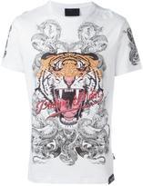 Philipp Plein 'Philipp Tiger' T-shirt - men - Cotton - S