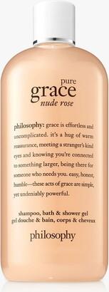 philosophy Pure Grace Nude Rose Shower Gel, 480ml