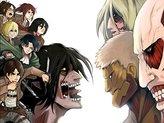 WV6306 Attack on Titan Shingeki no Kyojin Characters Eren Yeager Mikasa Ackerman Annie Armin Hange Levi Sasha Anime Manga Art 16x12 Print POSTER