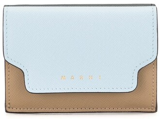 Marni tri-fold Saffiano leather wallet