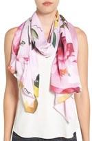 Ted Baker Women's 'Citrus Bloom' Silk Scarf