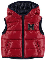 Mayoral Hooded Reversible Puffer Vest, Size 3-24 Months