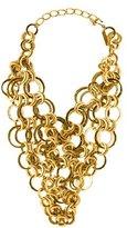 Oscar de la Renta Chain Collar Necklace