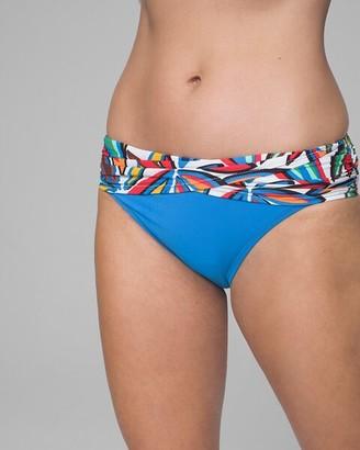 Soma Intimates Bleu Rod Beattie Lush Life Sarong Hipster Bikini Swim Bottom