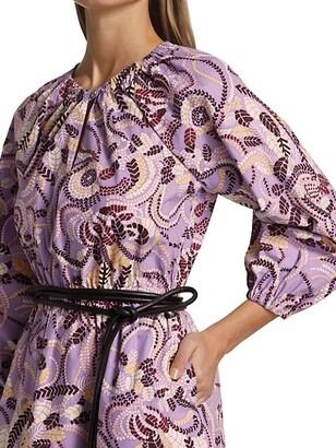 A.L.C. Rosanna Belted Minidress