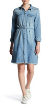 Noisy May Patrick Raw Shirt Dress