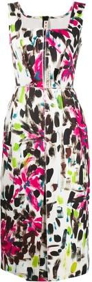 Marni Paintbrush Print Dress