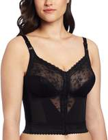 Carnival Women's Plus-Size Front Closure Longline Bra