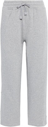 adidas by Stella McCartney Essentials Printed French Cotton-terry Track Pants
