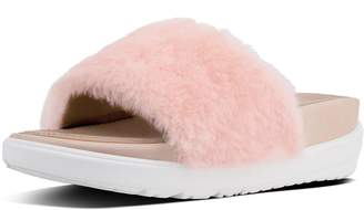 FitFlop Loosh Luxe Shearling Leather Slides