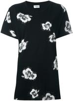 Saint Laurent hibiscus print T-shirt