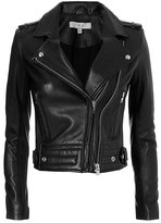 IRO Luiga Moto Leather Jacket: Black
