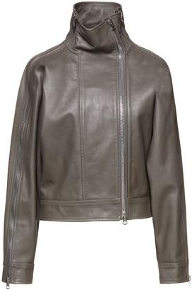 Acne Studios Zip-detailed Leather Jacket