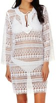Seafolly Fringed Lace Tunic Kaftan