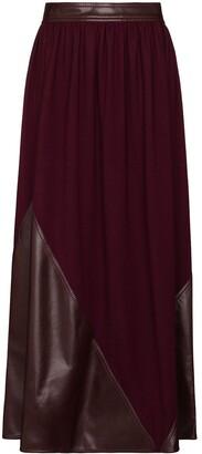 Roksanda Pola panelled maxi skirt