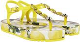 Dolce & Gabbana Dolce Gabbana Jeweled Thod Flip Flops
