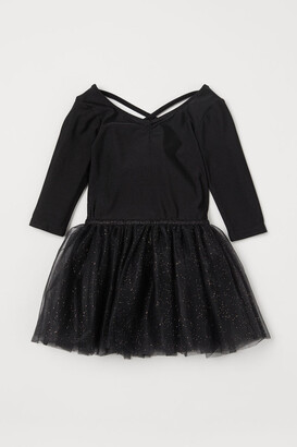 H&M Tulle-skirt Dance Dress - Black