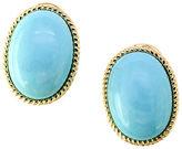 Effy Turquesa Turquoise and 14K Yellow Gold Earrings