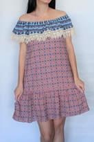 Umgee USA Boho Ruffle Dress