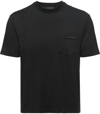 Prada chest pocket logo T-shirt