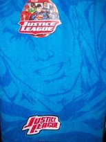 Franco Mfg DC Comic Justice League Embroidered Bath Towel 28 x 50 in
