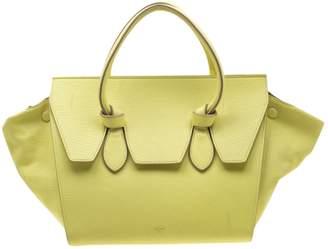 Celine Tie Yellow Leather Handbags