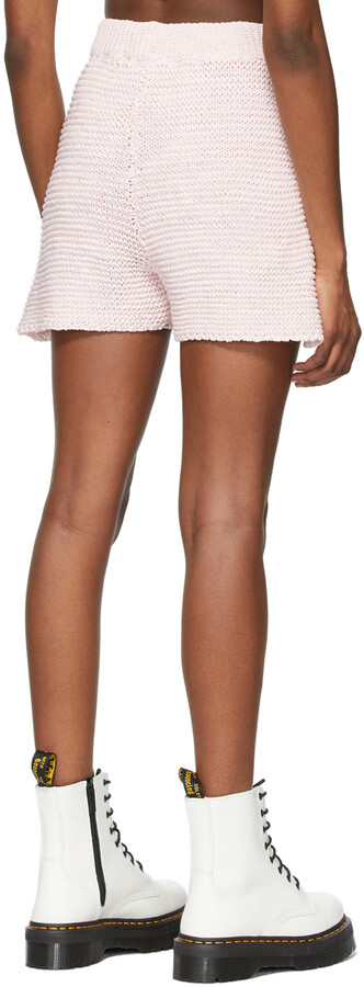 Thumbnail for your product : Sjyp Pink Knit Shorts
