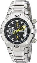 Seapro Men's SP3325 TX Diver Analog Display Quartz Silver Watch