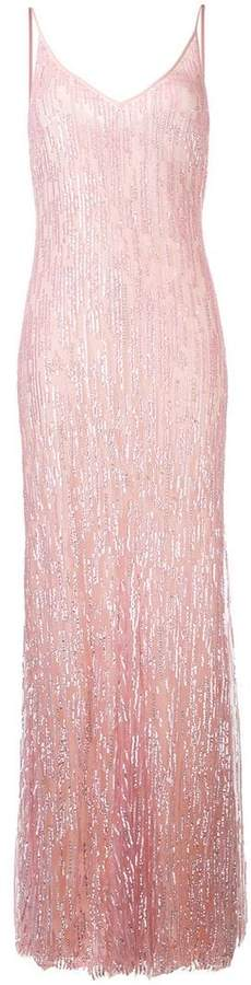 Amen sequinned evening gown