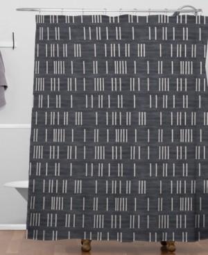 Deny Designs Holli Zollinger Bogo Denim Mudcloth Shower Curtain Bedding
