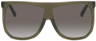 Loewe Green Oversized Round Sunglasses
