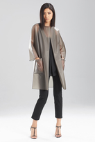 Josie Natori Transparent Raincoat