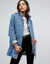 Vila Oversized Denim Jacket
