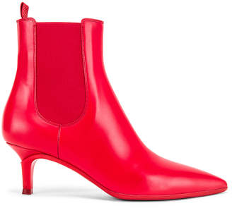Gianvito Rossi Ankle Bootie in Tabasco Red   FWRD