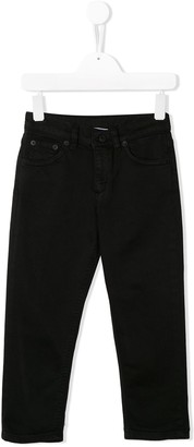 Dondup Kids Slim-Fit Straight-Leg Jeans