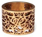 Ralph Lauren Gold-Plated Barrel Ring Gold 6