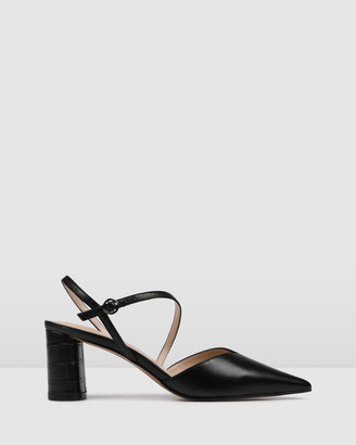 Jo Mercer - Women's Black All Pumps - Peru Mid Heels - Size One Size, 38 at The Iconic