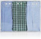 Barneys New York Men's Cotton Boxer Shorts Set