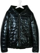 MonnaLisa hooded puffer coat