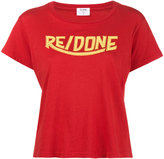 RE/DONE 1970s logo print t-shirt