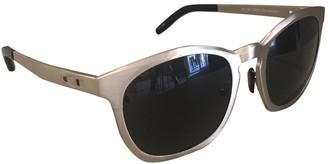 Alexander Wang Gold Metal Sunglasses