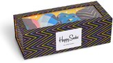 Happy Socks Ziggy Socks 4 Pack Box Set | Multi-Color Combo - Black