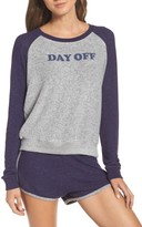Make + Model Women's Cozy Crew Raglan Sweatshirt