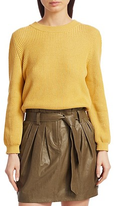 Frame Chunky Organic Pima Cotton Sweater